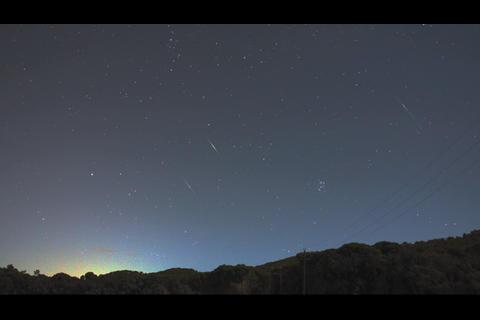 Lluvia de estrellas podrá verse esta noche