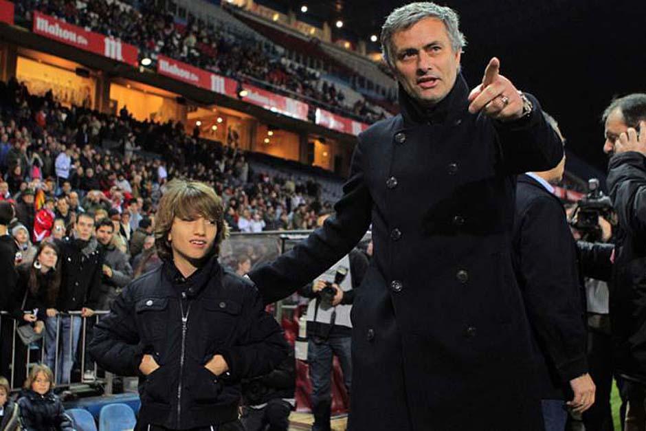 La conmovedora carta de José Mourinho para su pequeño hijo