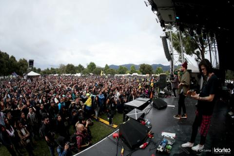 Easy Easy conquista con su música el festival de rock en Colombia