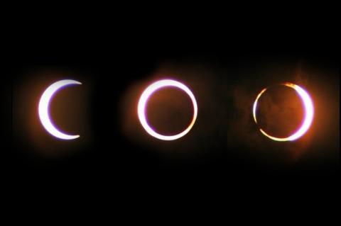 Eclipse híbrido ocurrirá este domingo, un fenómeno inusual