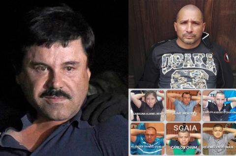 """Nuevos capos del narco en Guatemala tendrían conexión con """"El Chapo"""""""