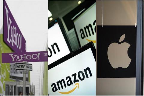 Yahoo, Amazon y Apple son algunas de las tantas empresas que han sido fundadas en Estados Unidos por inmigrantes. (Imagen: CNN)