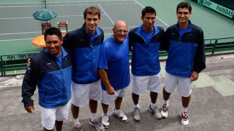 Guatemala define el equipo de Copa Davis que enfrentará a México