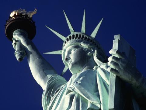 Estatua de la libertad abre de nuevo sus puertas