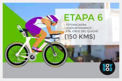 Kilómetro a kilómetro: Etapa 6 de la 54 Vuelta a Guatemala