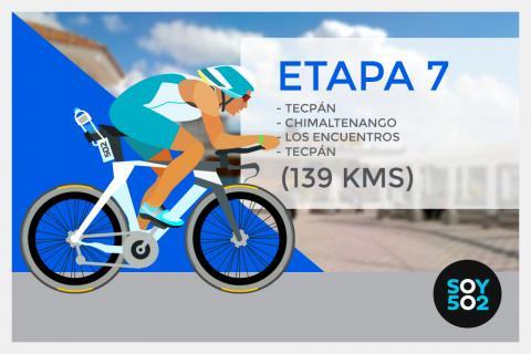 Kilómetro a kilómetro: Etapa 7 de la 54 Vuelta a Guatemala