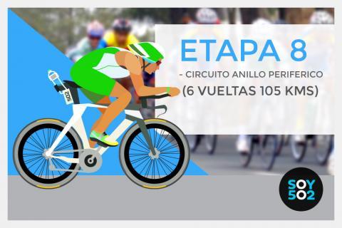 Kilómetro a kilómetro: Etapa 8 de la 54 Vuelta a Guatemala