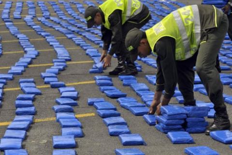 Colombia incauta 2,8 toneladas de cocaína con destino a Guatemala