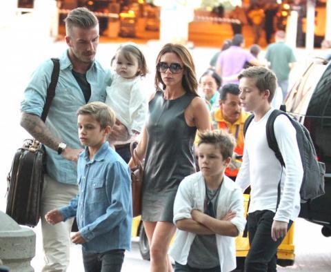 Los Beckham subastan sus pertenencias
