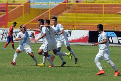 La Sub-20 debuta con victoria ante Costa Rica en El Salvador