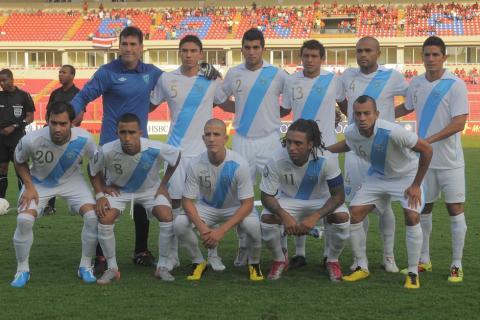 Guatemala sigue en el puesto 126 de clasificación de la Fifa