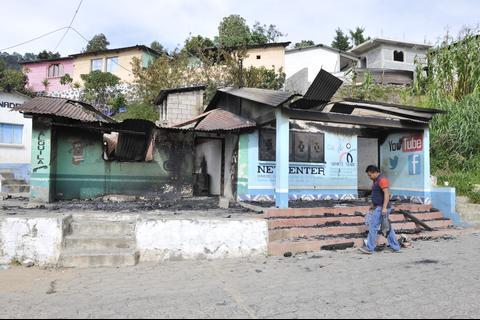 Las mesas receptoras cerraron a las 4 de la tarde en Concepción Sololá