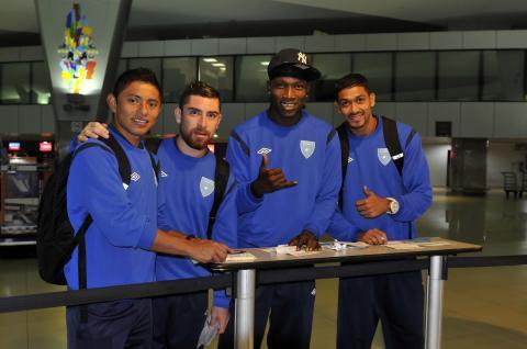 La Selección de Guatemala viajó a Sudamérica para enfrentar a Perú