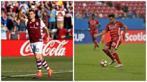 Se frustró un posible duelo entre Marco Pappa y Carlos Ruiz en la MLS