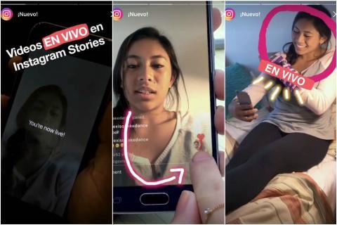 Ahora podrás hacer transmisiones en vivo a través de Instagram Stories
