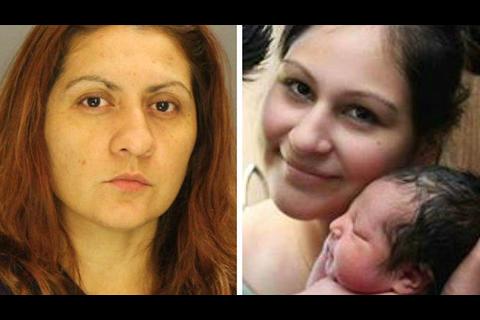 Mujer finge estar embarazada para matar a una mujer y robar un bebé