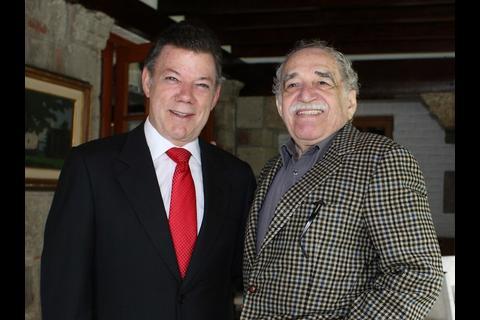 Presidente colombiano irá al homenaje a García Márquez en México
