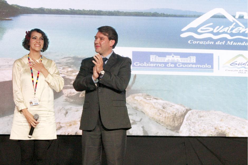 "Gaby Moreno fue nombrada ""Embajadora Honoraria de Turismo"""