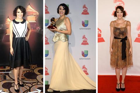 Los mejor vestidos de la 14 edición de los Latin Grammy