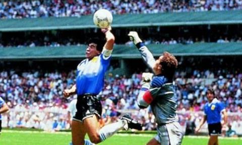 """A 30 años del gol de la """"Mano de Dios"""" en el Mundial México 86"""