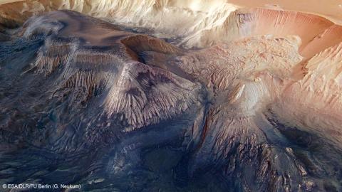 Las cicatrices de Marte