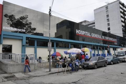 Morir en un hospital del IGSS, a los 19 años
