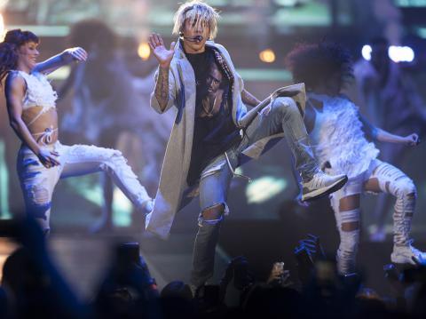"""Justin Bieber sabe cómo se debe bailar """"La Gasolina"""" de Daddy Yankee"""