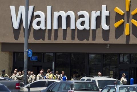 Cinco muertos en Walmart de Las Vegas tras tiroteo