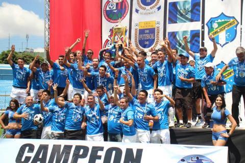 ¡Comunicaciones campeón! celebra el Tetracampeonato