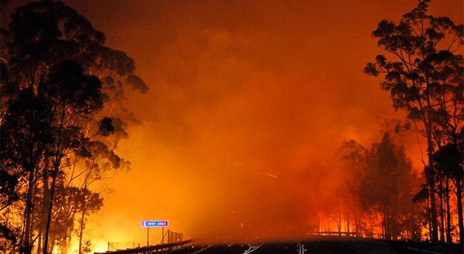 Australia arrasada por incendios provocados por ejercicios militares