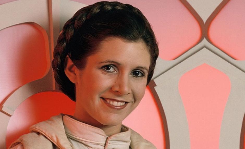 La primera audición de Carrie Fisher como la princesa Leia