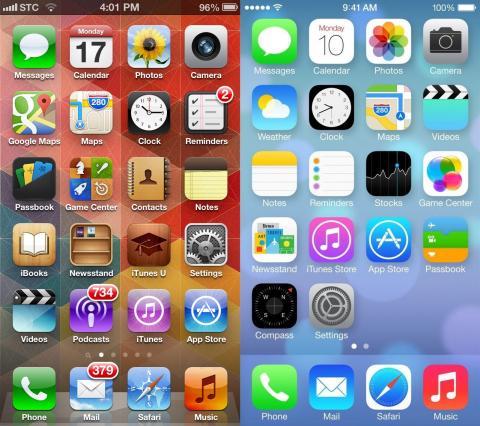 iOS7: #fail