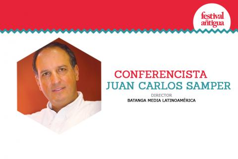 Expositor en Festival Antigua: Juan Carlos Samper