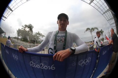 Maegli inicia en puesto 16 su tercera aventura olímpica en Río 2016