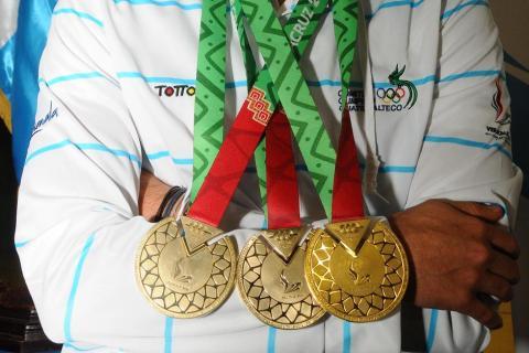 Listado: Guatemala y sus 77 medallas en Veracruz 2014