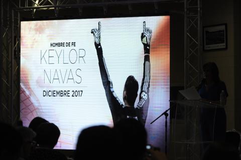 """Historia de Keylor Navas será llevada al cine con """"Hombre de fe"""""""