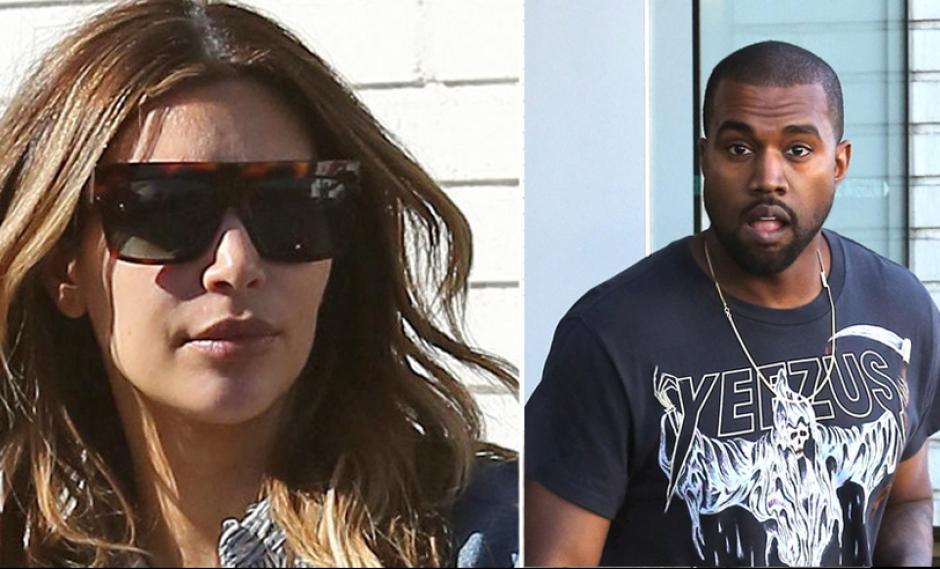 Kanye West defiende a golpes a su novia Kim Kardashian