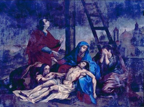 Capturan a dos por robo de valiosas obras de iglesia El Calvario