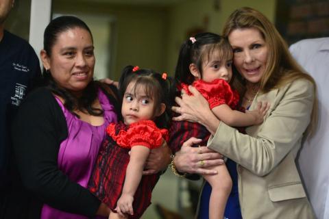 """""""Las Rositas"""" se despiden del Hospital Roosevelt"""