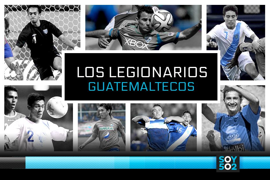 Guatemala tendrá por primera vez a siete futbolistas en el extranjero