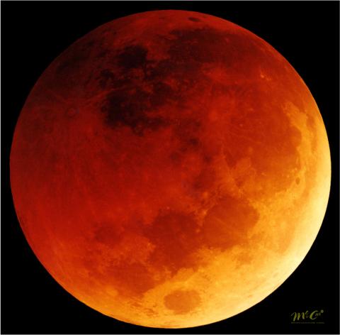 Prepárate para el eclipse del lunes santo: una noche de hechizo lunar