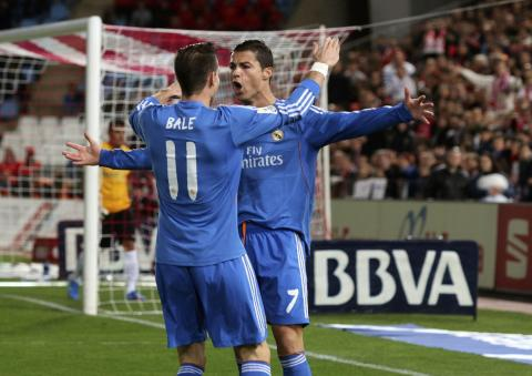 El Madrid golea de visita al Almería pero pierde a Cristiano Ronaldo