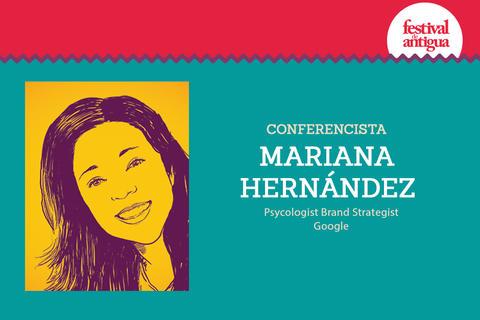 Expositor en Festival Antigua: Mariana Hernández