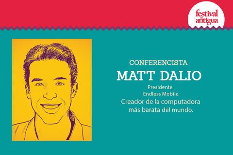 Expositor en Festival Antigua: Matt Dalio