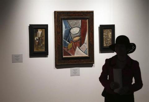 El mercado del arte contemporáneo crece en 2013
