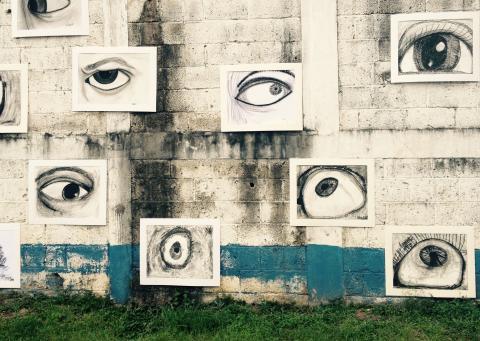El barrio La Morera fue la galería de arte más grande de la ciudad