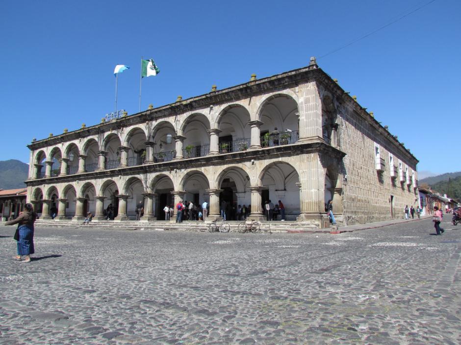 MP realiza allanamiento en la Municipalidad de Antigua Guatemala