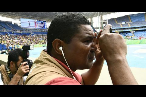 Un fotógrafo invidente cubre los Juegos Paralímpicos Río 2016