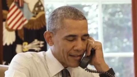 Obama se cuela en un programa de humor cubano