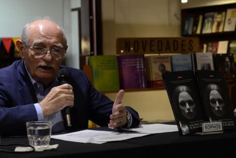 Francisco Pérez de Antón presenta su nuevo trabajo literario